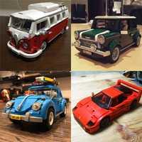 Educativos 21001, 21002, 21003, 21004, 21046 técnica Modelo de la serie Kits de construcción de bloques de ladrillos educativos juguetes para niños