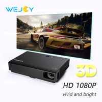 Wejoy láser de cine en casa 3D Proyector DL-310 Mini Proyector 1080 P del teatro casero DLP Android portátil Proyector tv