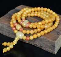 Hagit-Xinjiang naturel or soie jade bracelet nouvelle mode gobi jade.