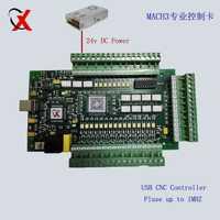 E cortar actualización 3 Axis USB CNC Mach3 controlador de interfaz de tarjeta de placa de adaptación, 1000 kHz
