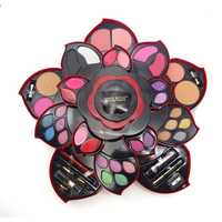 Flor del ciruelo Sombras de ojos paleta ciruela grande giratoria cosmética Herramientas sombra cosmética caja cosmética set Dropship