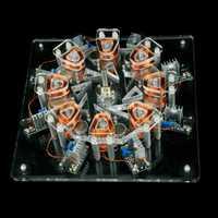 Motor de disco de estrella de bobina de 8 etapas NFSTRIKE 5000-10000rpm máquina eléctrica juguetes para niños adultos 2019