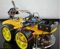 Multi-función Smart car kit Bluetooth chasis traje Tracking compatible uno R3 DIY RC Toy robot electrónico