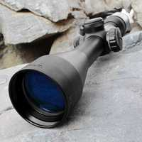 Nueva óptica Rifle Scope 3-9X40 táctico arma caza riflescope con 2 Weaver Mounts para SNIPER caza