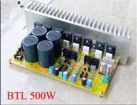 700 W A4-BTL NJW0281 NJW0302/MJL3281 MJL3302/5200/1943 tubo BTL completamente simétrica doble amplificador de diferencia de kits de bricolaje