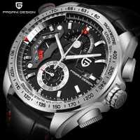 Relojes deportivos de marca de lujo con diseño PAGANI 2018, reloj de cuarzo De cuero resistente al agua, reloj Masculino, Zegarek Damski Saat