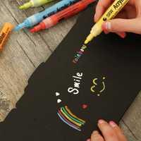 14 colores/set profesional ropylene acrílico pintor arte marcador permanente rotulador pintura de DIY en la ropa diseño marcadores