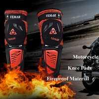 Nueva protección de la motocicleta rodillera Dizlik de protección rodilla almohadillas para deportes mantener caliente fuego Protector de la rodilla de Motocross