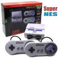 Super HD HDMI salida SNES Retro clásico reproductor de videojuegos de mano Mini consola de juegos incorporada 21 juegos