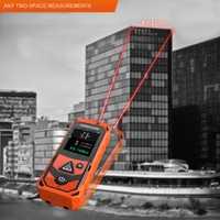 Portátil 80 m Digital láser telémetro punto medidor de distancia medida cinta telémetro volumen área medida y accesorios osciloscopios