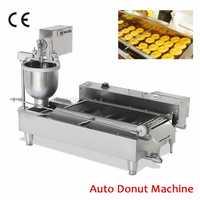Máquina automática de freidora de donas máquina de Donuts eléctricos máquina de donas comerciales para la industria de cocina de Bakehouse 220 V/110 V