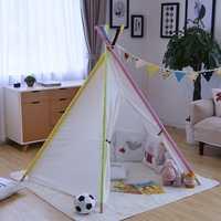 Patio bebé chicos/PlayHouse de niñas tiendas de campaña para los niños de Color puro indio tiendas juguetes de interior jugando tienda plegable para la habitación de los niños
