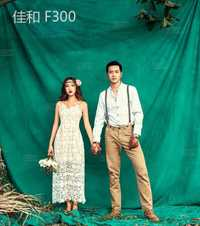 Fondo de la boda teñido de muselina backdrops para estudio de fotografía pintado a mano retrato de familia fotografía F300