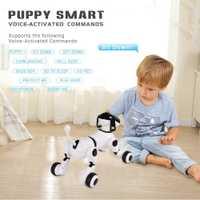 Robot inteligente perro inteligencia RC inteligente perro apoyo activado por voz comandos hablando perro Robot mascota electrónica juguetes de los niños
