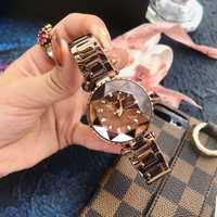 2019 relojes de lujo para mujer, relojes de pulsera de cuarzo para mujer, reloj de pulsera de acero para mujer