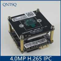 Xmeye cámara IP 4.0MP (2592*1520) H.265/H.264 cámara IP, sony OV4689 + HI3516D CMOS Módulo de cámara IP, IP PCB dwdr + ONVIF