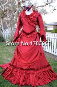 Vestido de Mina de Bram Stokers Dracula seda personalizada
