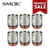 Al por mayor 10/20/50 paquetes smok TFV12 V12-X4 bobina 0.15ohm cuádruple bobinas para TF-V12 tanque atomizar 3 unids/pack e-cigs accessries