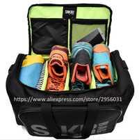 SNEAKER polochon hommes et femmes Sneaker sac de sport emballage Cube organisateur Double fermeture à glissière étanche Polyester sac en gros