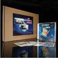 3D mariposa leyenda (+ DVD gimmick)-truco mágico, etapa, cerca de objetos mágicos, accesorios, comedia, ilusiones, magia Juguetes, broma