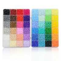 Perles Artkal 48 couleurs Perler A-2.6mm perles bricolage Pixel Arts fait à la main bijoux créatifs cadeau CA48