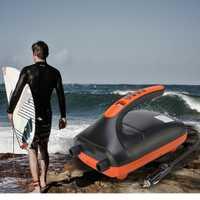 12V SUP Max 20PSI compresor de bomba de aire pantalla LCD bomba de aire eléctrica para inflar tablas de paletas SUP barcos balsas juguetes de piscina