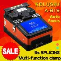 A-81S naranja inteligente automático empalmador de fusión óptica de la fibra FTTH fibra óptica de soldadura máquina de empalme