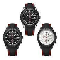 Modo De lujo marca reloj Megir reloj De pulsera De cuarzo para hombre 2018 reloj De pulsera impermeable reloj deportivo Montres Horloge Hommes