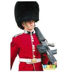 Ropa de soldado uniforme del ejército de los hombres uniforme militar Guardia Real del Reino Unido
