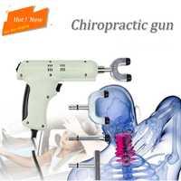 Columna quiropráctica 4 cabezas instrumento de ajuste quiropráctico/pistola de corrección eléctrica masajeador/ajustador de impulso