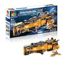 Star Wars Battleship Swat equipo modelo Diy ladrillos armas Eaducational bloques de construcción juguetes para niños Navidad 687 unids