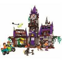Scooby doo Mystery Mansion bloques de construcción scoobydoo shaggy Velma vampiro 3D niños juguete regalos compatibles con Legoe