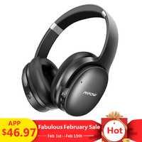 Mpow H10 activa de ruido cancelación de Bluetooth inalámbrico auriculares 18-25 H tiempo ANC Auriculares auriculares con micrófono para iPhone huawei Xiaomi