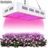 LED crece la luz 1000 W espectro completo de la lámpara de la planta para interior de efecto invernadero carpa planta siembra floración creciente crecimiento