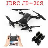 JDRC JD-20S JD20S WiFi FPV plegable Drone 2MP cámara HD con 18 minutos de tiempo de vuelo RC Quadcopter RTF VS JD20