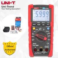 UNI-T UT191E/UT191T profesional multímetro; verdadero RMS IP65/impermeable a prueba de polvo multímetro digital de temperatura/LoZ de tensión