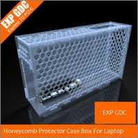 Nido de abeja caso Protector caja para EXP GDC externo independiente, tarjeta de gráficos