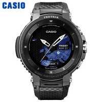 Casio montre hommes g shock marque de luxe étanche Sport montre-bracelet montre intelligente quartz montres hommes montresTracker de fitness Android compatible IOS compatible avec Bluetooth à écran tactile relogio WSDF