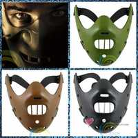 Envío Libre Juguetes de Halloween Disfraces Máscaras Máscaras de Miedo El Psicópata Asesino Silencioso cordero caníbal de Películas de Terror de Broma Broma Regalos