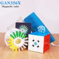 GAN356 X magnético cubos mágicos profesional Gan 356x Speed Cubo imanes rompecabezas Cubo mágico gans 356 X Neo Cube en stock