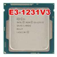 Intel XEON E3-1231V3 1231 V3 3,40 GHz Quad-Core E3 1231V3 8 MB DD R3 DDR3L-1600 LGA 1150 TPD 80 W 1 año de garantía