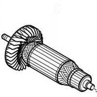 Armadura 518717-6 del Rotor para Makita HS0600