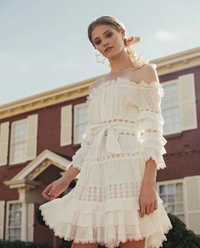 Nueva verano/primavera una sola pieza cordón del vestido de las mujeres de vacaciones cuello Venta caliente