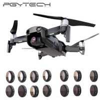 PGYTECH DJI Mavic filtros de cámara de aire ND4 8 16 32 PL UV CPL Protector lente HD filtro Kit para DJI Mavic Air Drone accesorios parte
