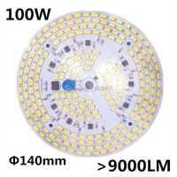100 W SMD 5730 5630 LED PCB con SMD5730 instalado y controlador IC. Placa de aluminio, envío libre