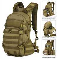 Protector más bolsa de senderismo mochila militar 25L mochila exterior mochila de Camping mochila impermeable características:-M