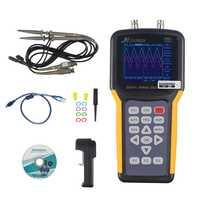 Jinhan JDS2022A de doble canal osciloscopio Digital 20 MHz banda 200MSa/s muestreo, multímetro automotriz