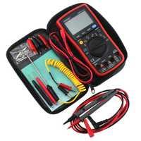 AN870 19999 condes multímetro Digital True RMS voltaje amperímetro medidor de corriente