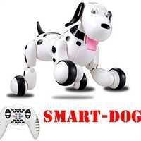 777-338 cumpleaños Regalos RC zoomer perro 2,4g Control remoto inalámbrico inteligente perro mascota electrónica de los niños educativos juguete juguetes Robot