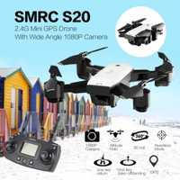Y logopeda S20 6 ejes Gyro FPV 720/1080 P/ancho ángulo de la cámara Mini cámara Drone portátil RC Quadrocopter plegable RC helicóptero modelo portátil
